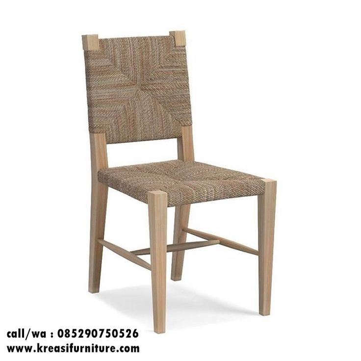 Kursi Cafe Kayu Anyaman Tali Terbaru merupakan kursi cafe dengan desain simpel minimalis berbahan full kayu jati solid dengan kombinasi anyaman tali mewah.