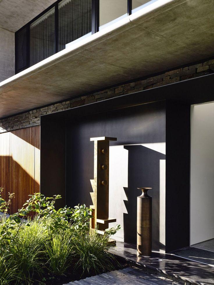 Бетон Дом Мэтт Гибсон архитектуры (6)