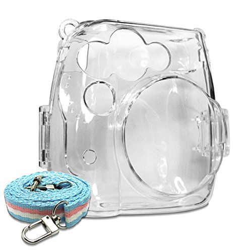 Takashi Crystal Camera Protective Case for Fujifilm Instax Mini 8 Instant Film Camera - Clear