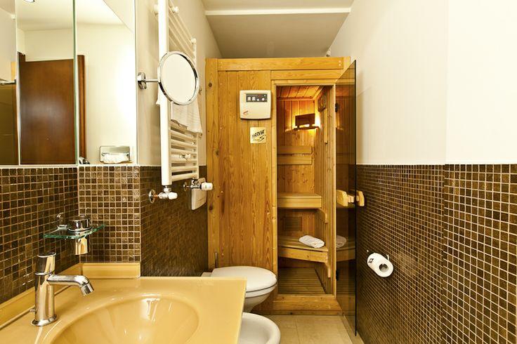 Sauna in Art Design Junior Suite