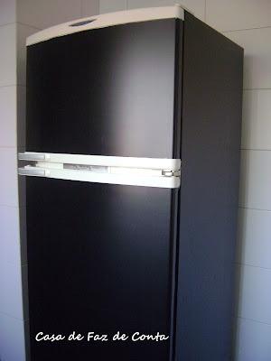 Antes e Depois, geladeira, papel adesivo, DIY, Faça você mesma