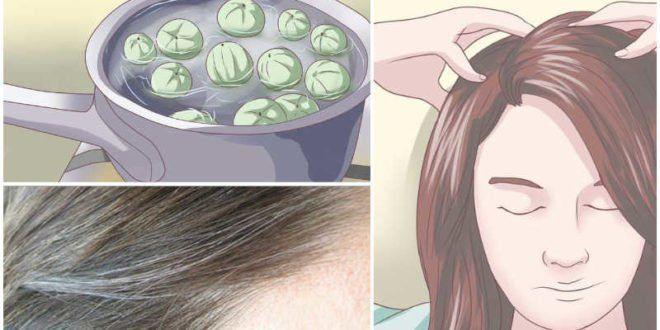 Au revoir les cheveux blancs ! Laissez ceci sur vos cheveux pendant 5 minutes et vous n'aurez plus jamais de cheveux blancs !