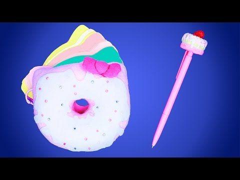 Давайте создадим милый блокнот в стиле Хелло Китти для любителей сладких пончиков. Такой замечательный скрапбукинг аксессуар станет отличным помощником для записи любимых рецептиков! #скрапбукинг #пончики #блокнот