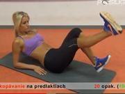 Cviky na brucho - Ako schudnúť z brucha - cviky pre ženy