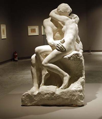 O Beijo - Escultura de Rodin