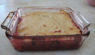 Pouding aux fraises de Grand-Maman | Recettes du Québec | .recettes.qc.ca