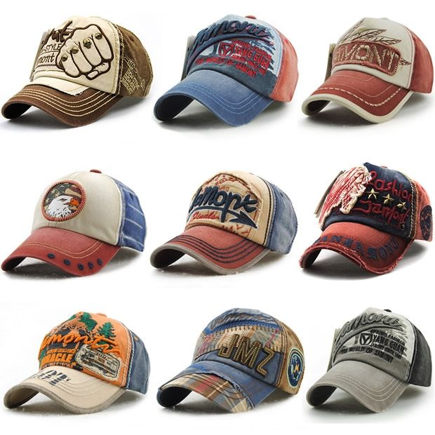 b3e440310dd Personality Cowboy Embroidered Baseball Hat Male Curved Eagle Hat Teen Girl  Fashion Cap