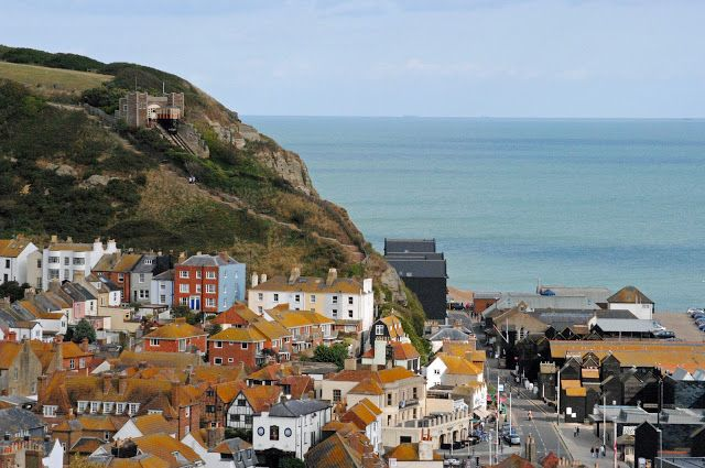 Hastings, East Sussex. I was here language course in last summer and fell in love this lovely and beautiful seaside town. :)