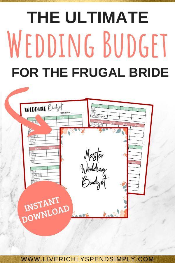 Wedding Planner Expense Budget Trackerwedding Budget Etsy In 2020 Budgeting Budget Printables Budget Wedding