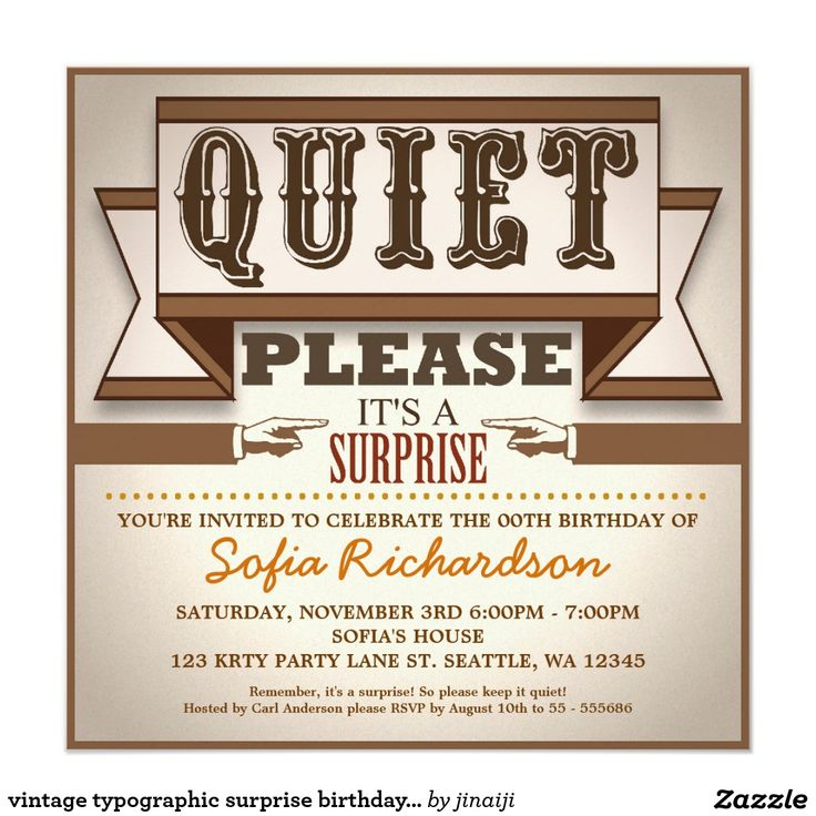 364 Best Adult Birthday Invitations Images On Pinterest