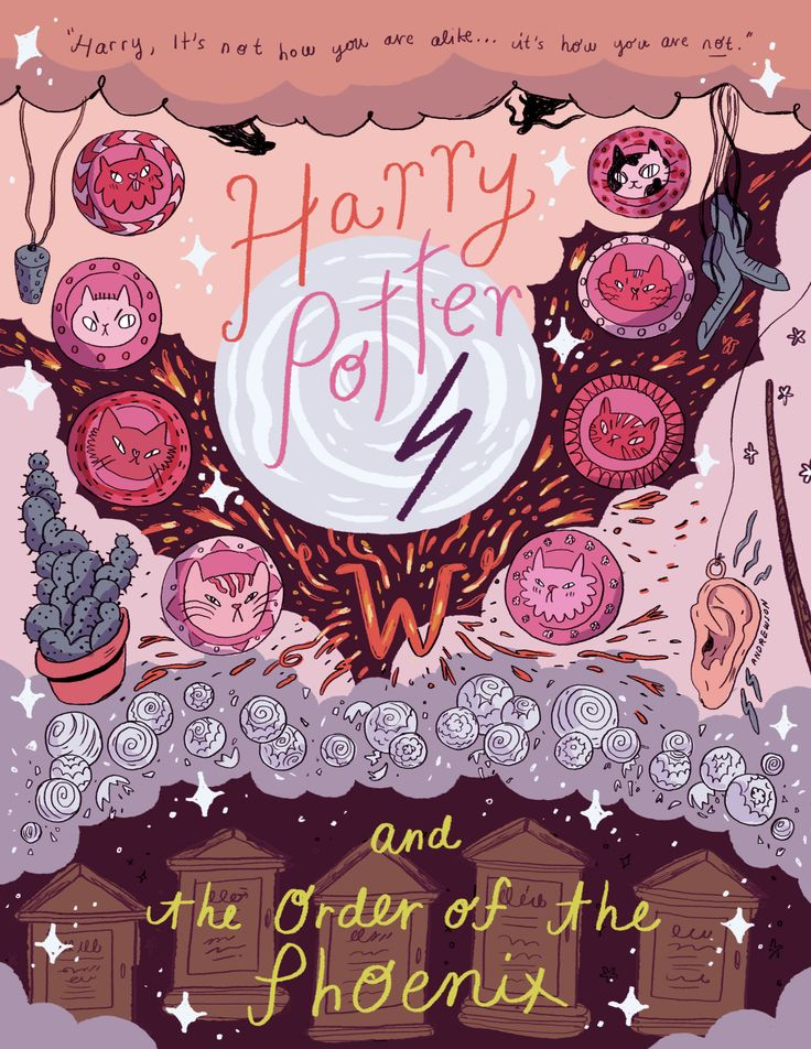 Harry Potter and the Order of the Phoenix (art by Natalie Andrewson)