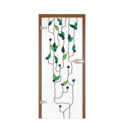 Drzwi szklane witrażowe GIPSY KINGS OLIWKI