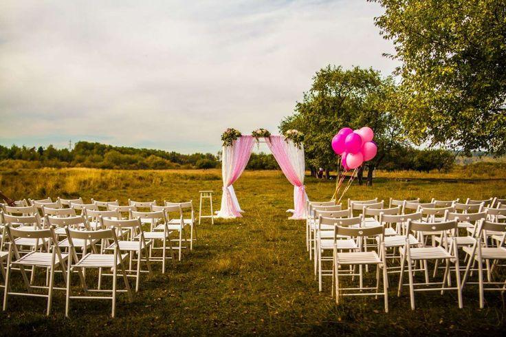 """Оформление выездной церемонии регистрации : стиль """"Шебби Шик"""" фото : 76 идей 2017 года на Невеста.info"""