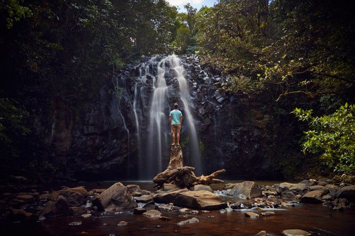 Ellinjaa Falls Atherton Tablelands  Image by Max Coquard http://blog.queensland.com/2014/11/20/100-things-to-do-cairns-great-barrier-reef/ #thisisqueensland