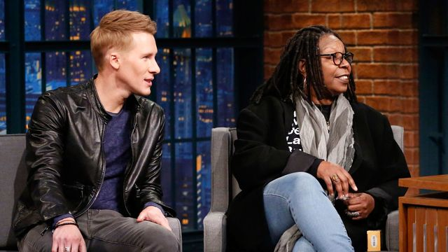 Watch Late Night: Seth Meyers Whoopi Goldberg Will Come After You If You Mess with the Constitution