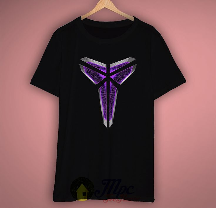 MVP Kobe Symbol Tshirt, the picture will be printed using Direct To Garment Printing Technology in full color with durable photo quality