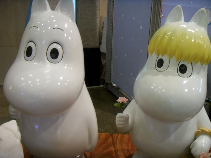 2015.12.21. Lotte Department Store main branch Moomin popup store Moomin families.