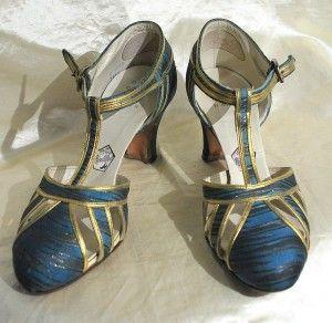 Vintage Flapper Heels. @designerwallace