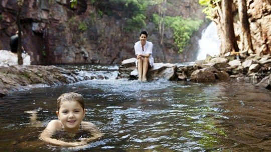 Florence Falls Walk, Batchelor, Northern Territory, Australia