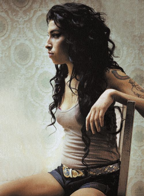 Amy Winehouse. Wish we hadn't lost her so soon. Such an amazingly talented woman.