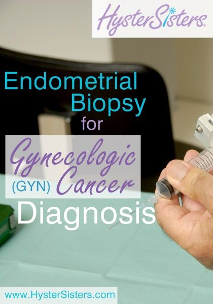 What can I expect from an endometrial biopsy?    An endometrial biopsy (http://www.hystersisters.com/vb2/article_558274.htm) may be performed when there is an e