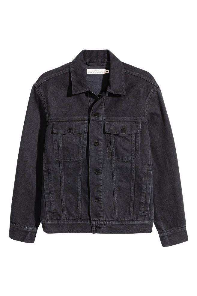 Pdp In 2020 Black Denim Jacket Men Denim Jacket Fashion Black Denim Jacket