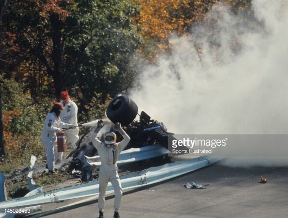 Overall View Of Guardrail Collision That Killed Francois Cevert 6