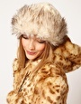 Enlarge ASOS Faux Fur and Knit Cossack Hat
