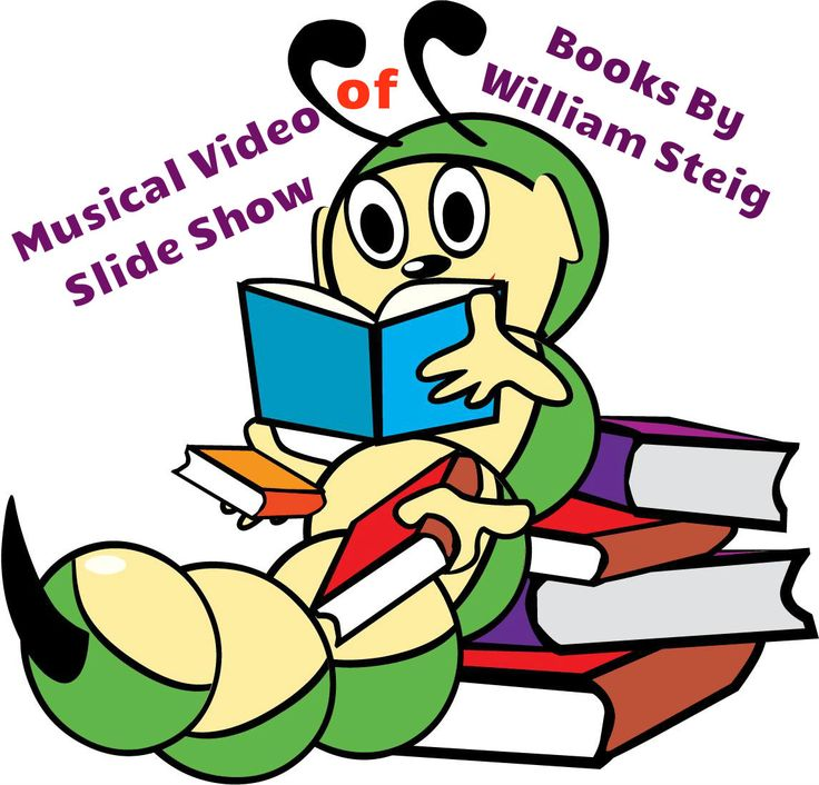 Video slide show of books is a great way to hook kids on to books. Add a touch of music, and the kids will be captivated! This musical slide introduces children to books by William Steig. A great way to kick off an author study unit! Free resource!
