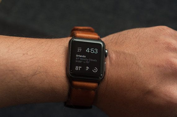 Apple Watch Leather Strap Leather Apple Watch by 12DegreesWest
