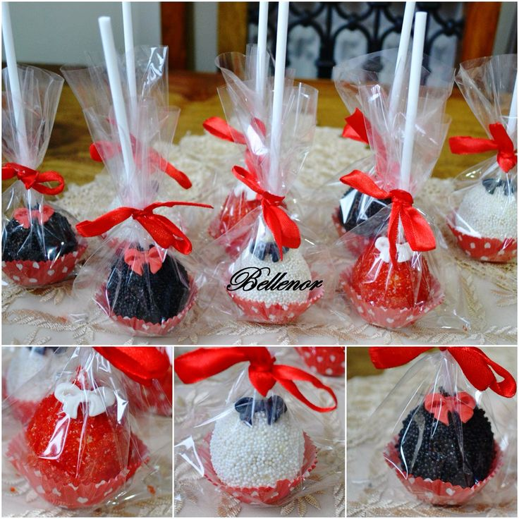 Pinterest Cake Pops Party Favour