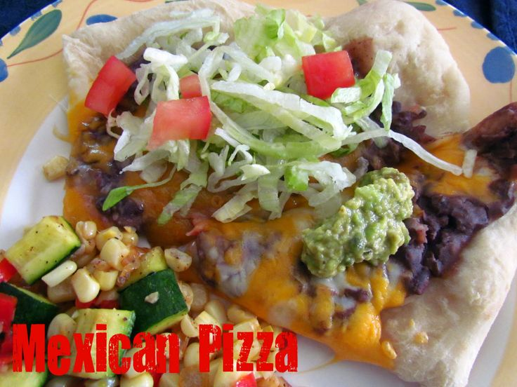 Mexican Pizza - Crazy for Crust