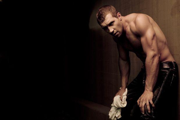 Jai Courtney photo shoot for Men's Health magazine.