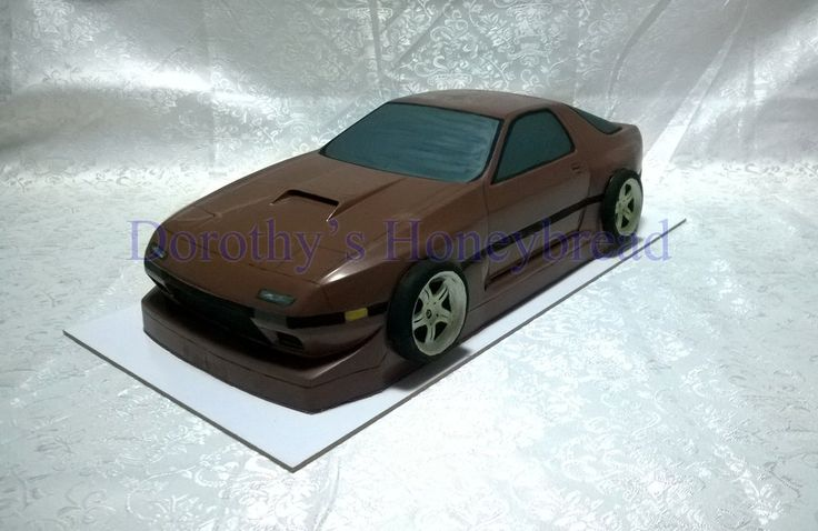 Mazda RX-7 FC3S Extra Large scale