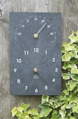 Cool! Clock and thermometer duo
