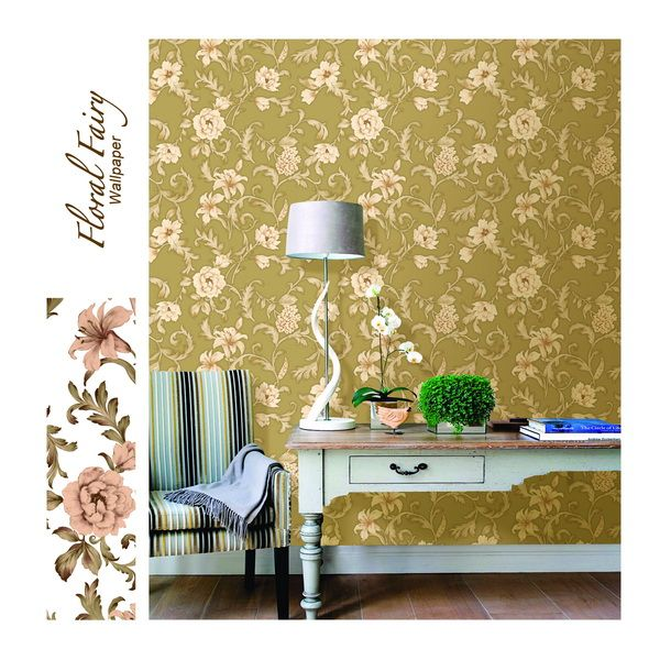 Your personal style will also influence the choice of the floral wallpapers. If you are someone who wants to keep things pretty simple, you can go for the minimal floral design