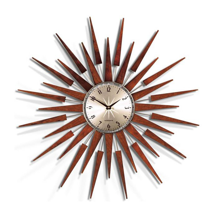 256 Best Vintage Starburst And Sunburst Wall Clocks Images