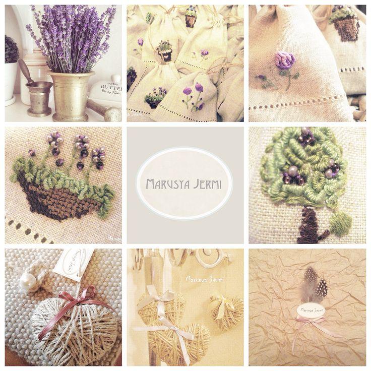 Marusya Jermi crafts lavender inspired
