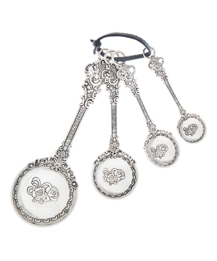 Loving this Victorian Measuring Spoon Set on #zulily! #zulilyfinds