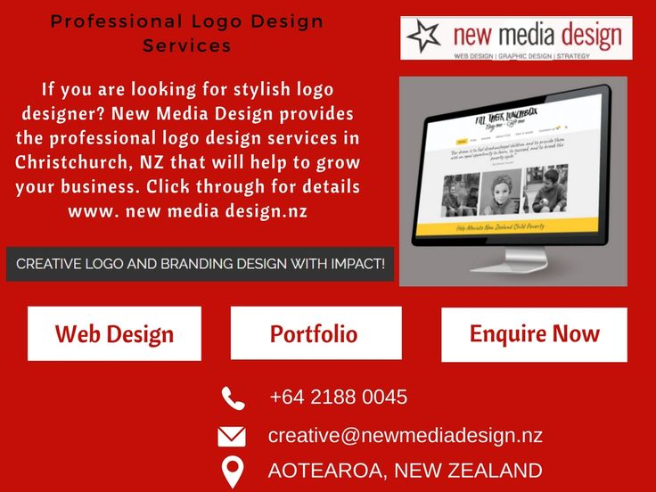 If you are looking for stylish logo designer? New Media Design provides the professional logo design services in Christchurch, NZ that will help to grow your business. Click through for details www. newmediadesign.nz