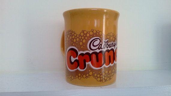SALEVintage Cadbury's Crunchie Chocolate by billingsleyson on Etsy
