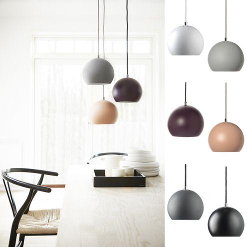 Frandsen Ball Pendel Matt - Pendler og hengelamper - Taklamper - Innebelysning   Designbelysning.no