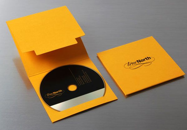 Impressive Graphic Design by Mike Rigby, a Designer from the UK. Yellow and Black CD cover.