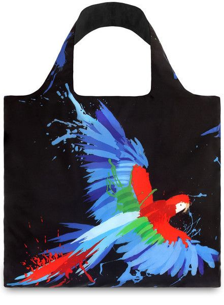Bag Parrot & Butterfly | Unique Reusable Bag from PIQ
