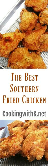 Cooking with K: My Favorite Fried Chicken (Babe's Copycat)