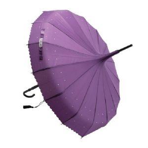 Lisbeth Dahl Umbrella - Purple Pagoda   Bridal Hotspot