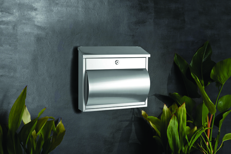 Sandleford Comet Letterbox With Paper Holder #mailbox #postbox #mailbox