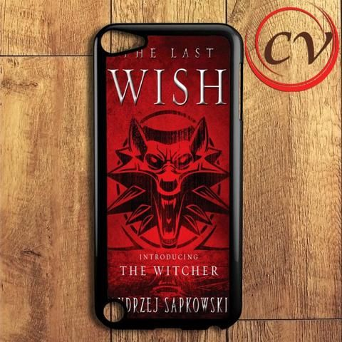 The Last Wish The Witcher iPod 5 Case