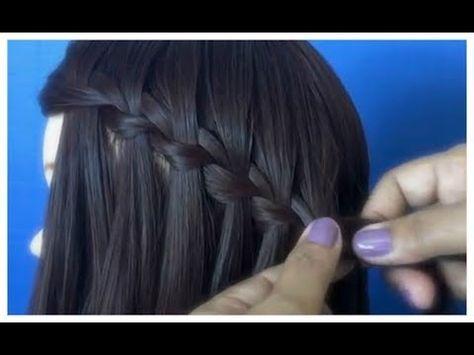 peinados recogidos faciles para cabello largo bonitos y rapidos con trenzas para niña para fiestas 6 - YouTube