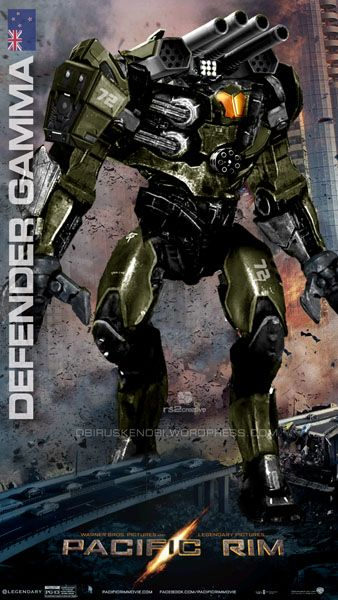 Custom Jaeger Defender Gamma New Zealand by rs2studios on DeviantArt